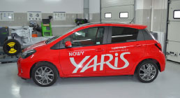 Toyota Yaris - test
